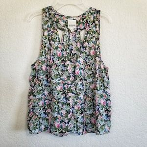 Urban Outfitters Floral Cropped Top S